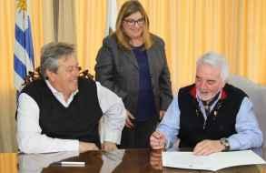 Asumió Jesús Bentancur como intendente interino por licencia de Enrique Antía