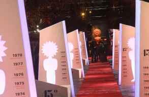 Maldonado estuvo presente e hizo contactos en el Festival de Cine de Gramado