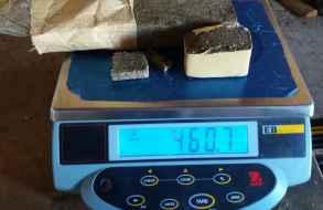 Incautaron ladrillo de casi medio kilo de marihuana en la cárcel de Las Rosas