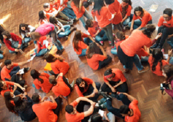Más de 200 jóvenes de todo el país se reunieron para trabajar sobre los derechos humanos