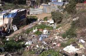 Encontraron restos de un cuerpo descuartizado en el asentamiento Los Eucaliptos