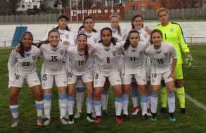 Selecciones femeninas Sub 17 de Uruguay y Japón se enfrentan en Maldonado