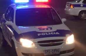 Pareja baleada en barrio residencial de Maldonado por resistirse a presunta rapiña
