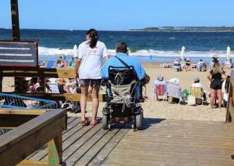 Rechazaron críticas a las prestaciones de la Playa Accesible habilitada en Punta del Este