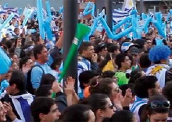 Partidos de Uruguay se podrán ver en pantalla gigante en el Campus de Maldonado
