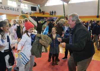 Enrique Antía vivió el debut de Uruguay junto a cientos de personas en el Campus