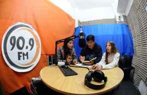 La radio del liceo de San Carlos desde el Mundial de Rusia a través de la 90.9 FM