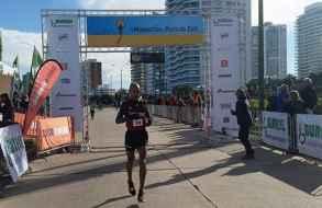 Cuarta victoria consecutiva de Aguelmis Rojas en la Media Maratón de Punta del Este
