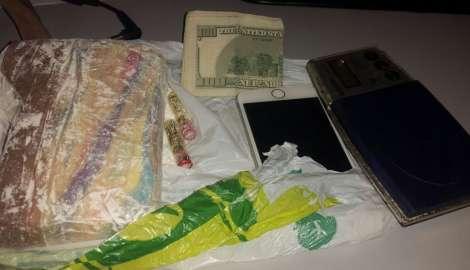 Golpe contra las drogas en San Carlos: incautan medio kilo de cocaína y coche brasileño robado