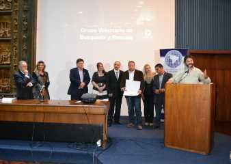 Rescatistas del Cerro Pan de Azúcar recibieron Premio Nacional a la Excelencia Ciudadana
