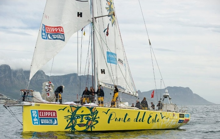"""Penalizaron al """"Punta del Este"""" y quedó 4° en la pierna de la Clipper que culminó en Sudáfrica - maldonadonoticias.com"""