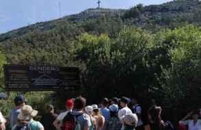 El cerro Pan de Azúcar se ha constituido en uno de los paseos preferidos por miles de personas
