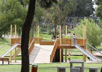 Con aforo reducido tres parques de Maldonado recibieron a miles de visitantes