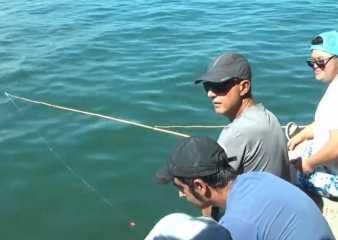 """Inscriben para el programa """"Trabajo pescando"""" para personas en situación de discapacidad"""