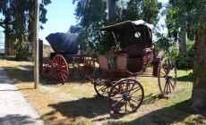 """El parque temático """"Pueblo Gaucho"""" contará con un Museo del Carruaje techado"""