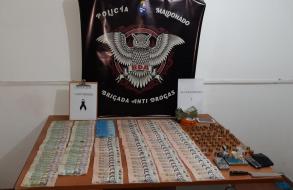 Operación antidrogas en el barrio Maldonado Nuevo desembocó en la detención de 7 personas