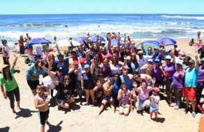Encuentro de surf inclusivo será el sábado 14 en playa Los Dedos de Punta del Este