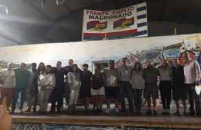 Convención del Frente Amplio consagró a sus tres candidatos a la Intendencia de Maldonado