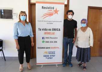 Centro comunal de barrio Lausana brinda contención y apoyo para la prevención del suicidio
