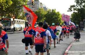 FUCVAM inició una marcha que culminará el domingo 24 en la plaza Artigas de Punta del Este