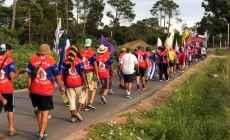 FUCVAM reinició la marcha que culminará el domingo 24 en la plaza Artigas de Punta del Este