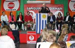 Sanguinetti aseguró que el FA dejará un país hipotecado y con fracasos en áreas que son claves