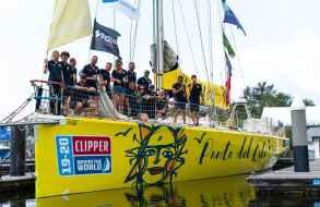 Se suspendió la regata Clipper 2019-2020 y todas las tripulaciones están en cuarentena en Filipinas
