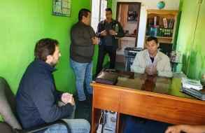 Diputado Germán Cardoso se reunió con el Sindicato de Policías de Maldonado