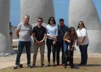 Bloguera licenciada en turismo y con discapacidad visual visitó Punta del Este
