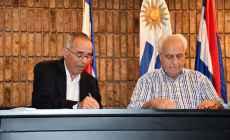 Libertad de San Carlos inicia nueva etapa de complejo deportivo con aporte del Mtop