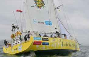 A punto de zarpar la flota de la regata Clipper desde Sudáfrica hacia Australia
