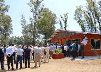 """Inauguraron sede oficial y el ruedo del """"Abrazo del Solís Grande"""" en el límite de Maldonado y Canelones"""