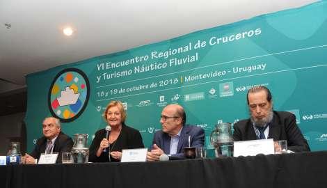 Nuevas compañías de cruceros recalarán en puertos uruguayos durante la temporada 2018-2019
