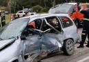 Cuatro heridos arrojó un choque entre 2 camionetas en el ingreso a Maldonado