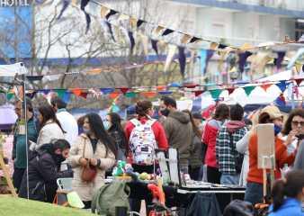 """Primera edición del """"Mercado Central"""" fue un éxito y dinamizó el centro fernandino"""