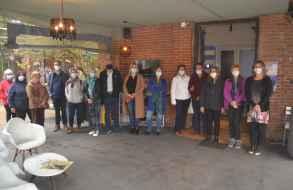 Grupo de jóvenes del Inau participó en recorrida guiada por el Castillo Pittamiglio