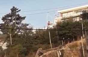 Una mujer resultó politraumatizada al caer desde la aerosilla de Piriápolis