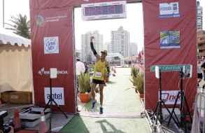 El brasileño Alisson Rocha Peres hizo suya la 11ª Maratón de Punta del Este